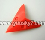 LH1101-Helicopter-parts-27 Horizontal wing-(Red)