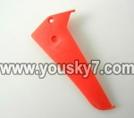 LH1101-Helicopter-parts-28 Vertical wing-(Red)