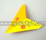 LH1101-Helicopter-parts-32 Horizontal wing-(Yellow)