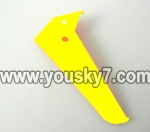 LH1101-Helicopter-parts-33 Vertical wing-(Yellow)