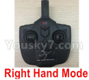 XK A120 Parts AirBus A380 Parts-Transmitter,Remote Control-Right Hand Mode-X4.014