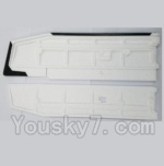 XK A1200 Spare Parts-02 Main Wing(Only EPP foam,No other parts)