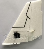 XK A1200 Spare Parts-09 Verticall Tail wing unit,All parts are assembled(Include the Servo)
