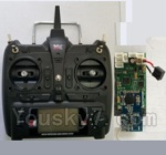 XK A1200 Spare Parts-19-01 X7.001 Transmitter & Circuit board