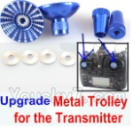 XK A1200 Spare Parts-19-06 Upgrade Metal Trolley for the Transmitter-Blue(Can be used for XK A600)