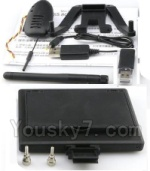 XK A1200 Spare Parts-23-02 Aerial image transmission Display screen & 720P HD Camera & Reader