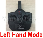 Wltoys XK A130-Y20 Parts-Transmitter,Remote Control-Left Hand Mode-X4.013