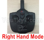Wltoys XK A130-Y20 Parts-Transmitter,Remote Control-Right Hand Mode-X4.014