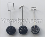 XK A150 Parts-Landing gear set Parts(3 set)-A150.0008