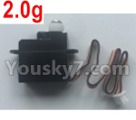 XK A150 Parts-2.0g Servo,Steering Servo Parts-A120.0012