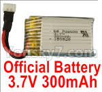 XK A150 Parts-Battery Parts-Official 3.7V 300mah Battery(1pcs)-A100.0011