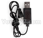 XK A150 Parts-USB Charging Cable