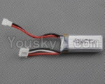 XK A430 Parts-10-01 Official 7.4v 300mah Battery(1pcs)