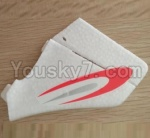XK A700 Parts-04 Verticall tail wing,Verticall Balance empennage- XK.2.A700.004