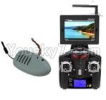 XK A700 Parts-18 Upgrade 5.8G FPV transmission display screen & FPV Camera unit & Transmitter