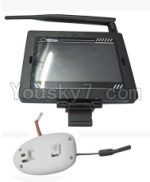 XK A700 Parts-19 Upgrade 5.8G FPV transmission display screen & FPV Camera unit