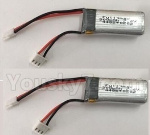 XK A800 Spare Parts-F959.010.02 7.4V 300mAh 20C Battery(2pcs)