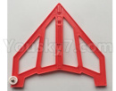 XK X420 Parts-Right Verticall Tail Wing Set-Red-X420.0005