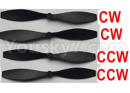 XK X420 Parts-Propellers(2pcs-CW-Clockwise + 2pcs-CCW-Counterclockwise)-X420.0009