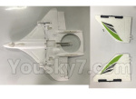 XK X450 Parts-Fuselage Body + Verticall Tail Wing Set-X450.0003