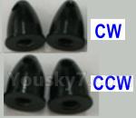 XK X450 Parts-Propellers fasten nut(4pcs-2X CW+2X CCW)-X520.0024