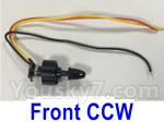 XK X450 Parts-Brushless motor(the Front CCW Motor)-7.4V 1307 CW 2300KV, line length-120mm-X450.0009