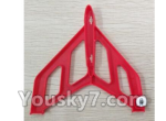 XK X520 Spare Parts X520.0003 Left Verticall Tail Wing Set-Red