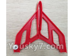 XK X520 Spare Parts X520.0004 Right Verticall Tail Wing Set-Red