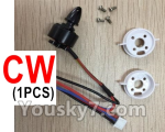 XK X520 Spare Parts X520.0008-02 Rotaing brushless motor(1pcs-CW)