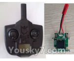 XK X520 Spare Parts X520.0015-01 X4 Small Version Transmitter and Circuit board together