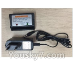 XK X520 Spare Parts X520.0016-01 Charger and Balance charger(we will sent the right Adapter according your order country)
