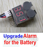 XK X520 Spare Parts X520.0016-04 Upgrade Alarm for the Battery,Can test whether your battery has enouth power