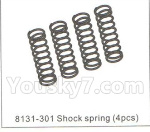 DHK Hunter Parts- 8131-301 Shock spring(4pcs)