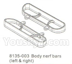 DHK Hunter Parts- 8135-003 Body nerf bars(Left & Right)