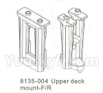 DHK Hunter Parts- 8135-004 Upper deck mount-Frong and Rear