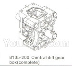 DHK Hunter Parts- 8135-200 Central diff gear box(Complete)