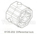 DHK Hunter Parts- 8135-202 Differential lock