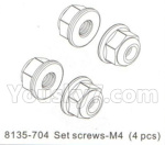 DHK Hunter Parts- 8135-704 Set screws-M4(4pcs)