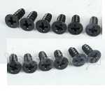 DHK Hunter Parts- 8381-024 Flathead screw(KB4x11.5mm)-12pcs