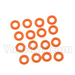 DHK Hunter Parts- 8381-109 O Ring(8X2mm)-16pcs