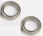 DHK Hunter Parts- 8381-110 Ball bearing,Wheel Bearing(10X15X4mm)-2pcs