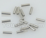 DHK Hunter Parts- 8381-115 Pins for Main transmission gear(2X8mm)-16pcs