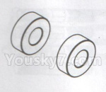 DHK Hunter Parts- 8381-117 Ball Bearing(5X11X4mm)-2pcs