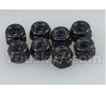 DHK Hunter Parts- 8381-306 M3 Nylon Nut(8pcs)