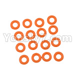 DHK Zombie Parts-8381-109 O Ring(8X2mm)-16pcs