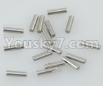 DHK Zombie Parts-8381-115 Pins for Main transmission gear(2X8mm)-16pcs