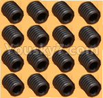 DHK Zombie Parts-8381-204 M4 Lock Nut(M4X4mm),M4 Set screws-16pcs