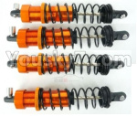 DHK Zombie Parts-8381-300-02 Shock absorber complete(4pcs)