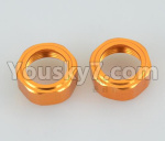 DHK Zombie Parts-8381-301 Shock cap(2pcs)