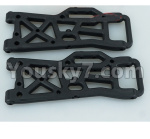 DHK Zombie Parts-8381-801 Lower sus.arm-Rear(2pcs)-(Can also be used for 8381,8383,8384,8382)